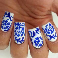 rubyrominaa #nail #nails #nailart | See more nail designs at http://www.nailsss.com/...