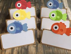 12 Gone Fishing Food Labels 12 Fishing Party by lilcraftychickadee
