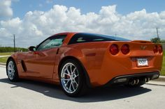 This corvette C6 ZO6 will always be my #1 dream car.And this is the color I want to!