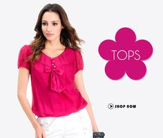Look Pretty in Warm & Colorful Tops for all the Stylish women. >> http://hytrend.com/women/western-wear/tops.html