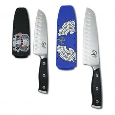 Chop in style and get the Guy Fieri Gourmet 2 Piece Santoku Set, available at the Food Network Store
