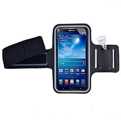 Black Jogging Running Sport Gym Armband for Samsung Galaxy Mega 6.3 / 5.8 / LG G3 / Nokia Lumia 1520 / Sony Xperia Z2. Made of neoprene material, keeps your phone safe when you are exercising. Protective clear plastic window / Touch Screen Friendly / Adjustable Shoulder Strap. Hybrid design features a durable rubberized exterior and neoprene padded interior. Deluxe Sports Armband with pocket slot for your gym locker key or car key.