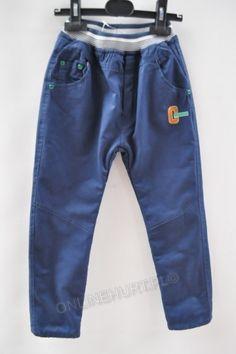 Spodnie dziecięce ocieplane G-1211  _D5  (3-8)