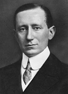 "Guglielmo Marconi (1874–1937), was an Italian inventor, known for his pioneering work on long distance radio transmission and for his development of Marconi's law and a radio telegraph system. Marconi is often credited as the inventor of radio, and he shared the 1909 Nobel Prize in Physics with Karl Ferdinand Braun ""in recognition of their contributions to the development of wireless telegraphy""."