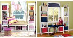 inspiracje pokoju dziecka ikea Baby Room, Bookcase, Ikea, Entryway, Shelves, Furniture, Home Decor, Entrance, Shelving