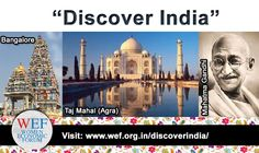 """Act today to reserve your complimentary stay at any of these """"Discover India"""" options before or after the Women Economic Forum 16-21 May 2016 in New Delhi India while space allows. See all details of """"Discover India"""" here: www.wef.org.in/discoverindia"""