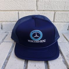 Hey, I found this really awesome Etsy listing at https://www.etsy.com/listing/179983707/deadstock-mercedes-benz-hat-mesh-trucker