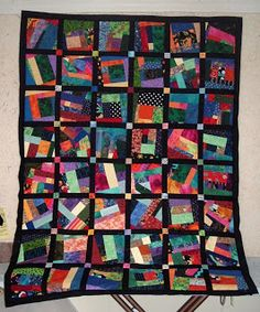Patchwork Pie: Mile-A-Minute Quilt
