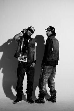 Les Twins...you haven't seen dancing until you see these two dance...