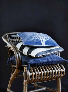 Broste Copenhagen is one of Scandinavia's leading interior brands, based in Copenhagen and originates back to 1955 Small Cushions, Floral Cushions, Embroidered Cushions, Decorative Cushions, Scatter Cushions, Outdoor Cushions, Cushions On Sofa, Contemporary Cushions, Modern Cushions