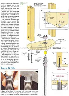 Router Table Lift Plans - Router Tips, Jigs and Fixtures