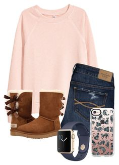 """Untitled #100"" by lhnlila on Polyvore featuring H&M, Abercrombie & Fitch, UGG and Casetify"