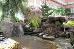 Backyard creation. #WaterFall