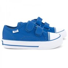 For F....too cute !    Vans Cobalt Velcro Trainers at alexandalexa.com