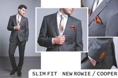 NEW ROWIE / COOPER | Seroussi -producător și distribuitor de costume bărbătești Different Fabrics, Different Styles, Fall Winter 2014, Suit Jacket, Trousers, Costume, Slim, Fitness, Casual