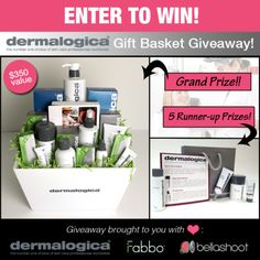 Amazing Giveaway from dermalogica! #dermalogica #giveaway #contest -bellashoot.com