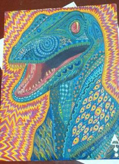Velociraptor trip