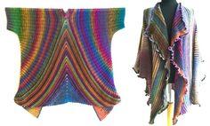 Zwei Anleitungen in einem E-Book: Das Poncho-Tuch Hypno und die Jacke Dolce Vita - zwei Figurschmeichler für Frauen mit Format. Der Hypno Einfach übergeworfen fällt es fließend in einer A-Linie und lässt sich auf viele Arten schwungvoll drapieren. Hy