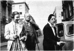 Crowley with Lady Frieda Harris