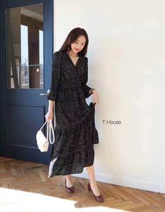 เดรสลูกไม้ เสื้อผ้าเกาหลี สวย ๆ