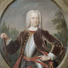 Portrait of Gustaaf Willem, Baron van Imhoff, Governor-General of the Dutch East India Company, Jan Maurits Quinkhard, 1742 - Rijksmuseum