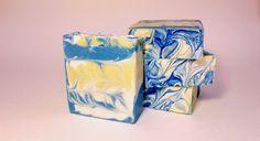 Fresh Air  Cold Process Soap www.cleverlilfox.com