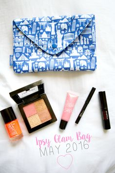 All about what I got in my may ipsy glam bag and what I think about them! #ipsy #ipsyglambag #beauty #makeup #makeupreview #ipsyreview