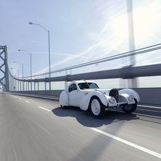 CGI Fantasy Garage: 1936 Bugatti Type 57SC Atlantic on Behance