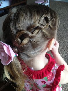 Daisy chain braid