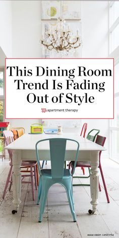 Matching dining room sets are overrated. Mismatched Dining Room, Mismatched Furniture, Antique Dining Tables, Modern Dining Chairs, Fat Chef Kitchen Decor, Kitchen Decor Sets, Rustic Country Kitchens, Country Kitchen Designs, Farmhouse Kitchen Canisters