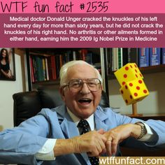 Cracking your knuckles and the health problems -WTF funfacts