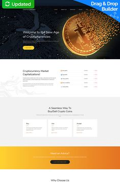 Before buying it, take a closer look at this awesome Bitcoin Cryptocurrency Premium Moto CMS 3 Template ( - get to know tech info and requirements, read customer testimonials, ask a question. Bitcoin Mining Rigs, What Is Bitcoin Mining, Investing In Cryptocurrency, Bitcoin Cryptocurrency, Cryptocurrency Market Capitalization, Crypto Coin, Financial Statement, Buy Bitcoin, Financial Institutions