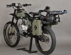 Zombie Apocalypse Ready Mountain Bike/Motorcycle