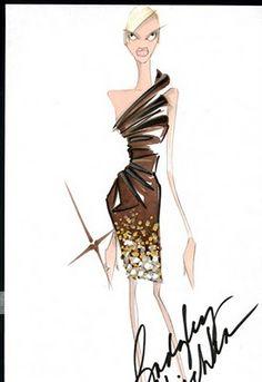 The Fashion Illustrator: Fall 2010 Inspirations (Part 1)