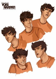 This is exactly what i imagined percy jackson to look like!