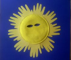 paper plate sun mask