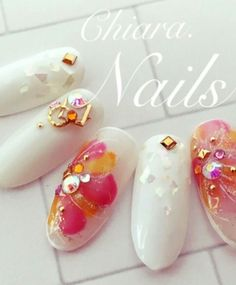 #Nail #Nailart #cute