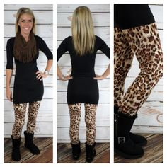 Wild Side: Leggings #printedleggings #privityboutique www.privityboutique.com instagram: @privityboutique facebook: Privity Boutique Follow us for great deals and giveaways!!