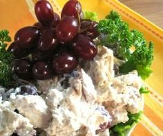 Chicken Salad with Grapes, Celery, & Pecans Recipe