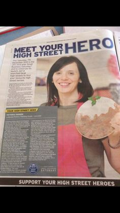 Figgy Pudding plate as seen in the local newspaper Figgy Pudding, Leicester, The Locals, Newspaper, Meet You, Lush, Finding Yourself, Product Launch, Plate