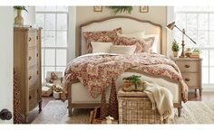 Get inspired by American Traditional Bedroom Design photo by Birch Lane. Birch Lane lets you find the designer products in the photo and get ideas from thousands of other American Traditional Bedroom Design photos. Shabby Chic Bedrooms, Shabby Chic Furniture, Shabby Chic Decor, Modern Bedrooms, Antique Furniture, Unique Home Accessories, Pastel Room, Traditional Bedroom, Traditional Furniture