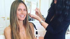Heidi Klum und Tom Kaulitz in Cannes - ihre Frisur mit Wendy Ilse