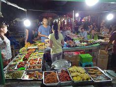 Night market on Gili Trawangan. Gili Trawangan – Beach, Party, Diving
