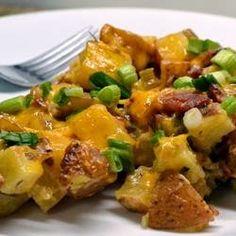 Baked Potato Casserole - Recipes, Dinner Ideas, Healthy Recipes & Food Guide