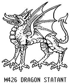 Dragon Statant