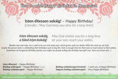 Isten éltessen sokáig! – Happy #Birthday! Literally: May God keep you alive for a long time! https://dailymagyar.wordpress.com/2016/04/20/isten-eltessen-sokaig/