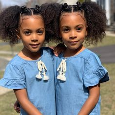 The Most Beautiful Identical Twins – Best for Kids Black Twin Babies, Black Little Girls, Twin Baby Girls, Cute Black Babies, Black Twins, Cute Twins, Cute Young Girl, Cute Baby Girl, Baby Girl Photos