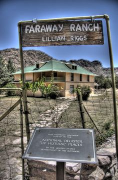 Faraway Ranch Historic District in Cochise County, Arizona