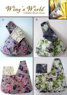 Diese japanische Knoten Tasche / Armband ist sehr leicht im Gewicht, es wird durch 100 % Baumwolle hergestellt. Diese Tasche wurde verstärkt mit Anbindung, so dass Ihre Tasche eine lange Zeit dauern wird! Abmessungen: Breite: 32cm Höhe: 20cm ** Mehrere Farbauswahl und Stoffmuster sind