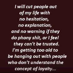Have done this recently & it feels great! Can't stand people that come into your life then decide their jealous of what you have so start being sneaky & snide!! See ya
